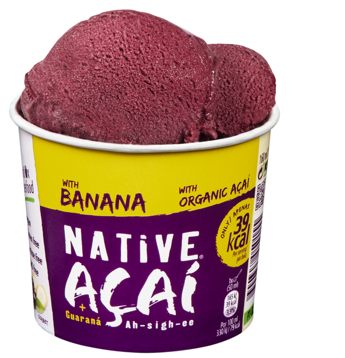 Açaí with Banana 160ml