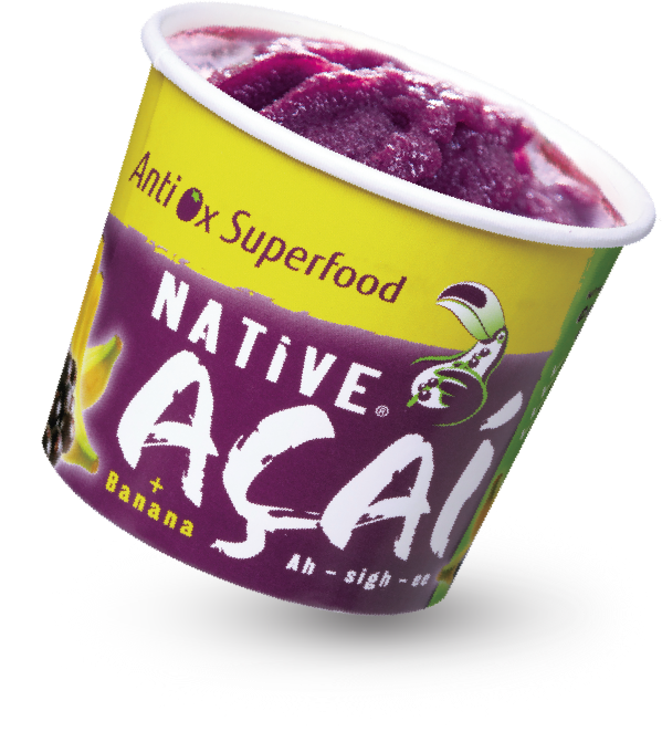 Açaí com Banana 160ml